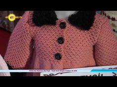 Örgüden Kız Mantosu Nasıl Örülür? Detaylı Anlatım | 5. Model (5/5) - YouTube