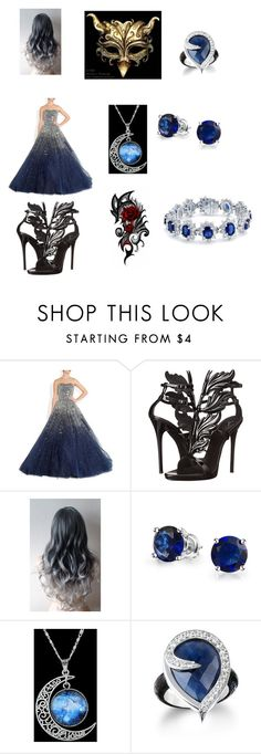 """""""silveria's labyrinth outfit"""" by silveria-phantomhive on Polyvore featuring Giuseppe Zanotti, Masquerade and Bling Jewelry"""