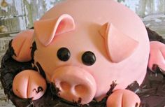 You'll be surprised to find out just how easy this Pig In Mud Cake Instructions are. ou are going to love the stunning results. Watch the video too!