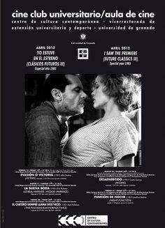 El CINE CLUB UNIVERSITARIO dedicó la tercera edición de su ciclo YO ESTUVE EN EL ESTRENO (CLÁSICOS FUTUROS) a cinco películas estrenadas a lo largo de 1981: Evasión o Victoria (John Huston), Desaparecido (Costa Gavras) o El cartero siempre llama dos veces (Bob Rafelson), junto a films europeos como La buena boda, del francés Eric Rohmer, o Función de noche, de la española Josefina Molina, recientemente galardonada con el Goya de Honor a toda su carrera.