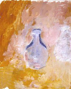 Adrian Stokes. 'Still Life: Last Eleven (No 8)'. Oil on canvas. 1972.