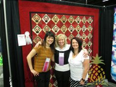 Paducah 2014Riding the Storm Out Clover Schnibbles Quilted!Uncommonly Corduroy - Blog Book Tour