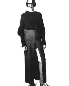 Circa 1990-'91 Maison Martin Margiela Sweater by Miss Deanna
