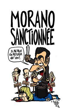 Péji - Caricature : Nicolas Sarkozy clashe Nadine Morano