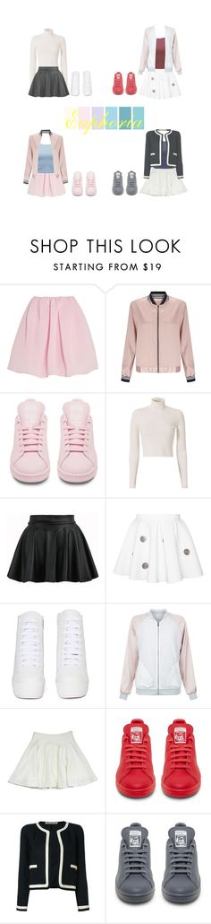 """""""Euphoria Performance"""" by mama-awards ❤ liked on Polyvore featuring Carven, Miss Selfridge, adidas, A.L.C., Jeffrey Campbell, New Look, Milly and Chanel"""