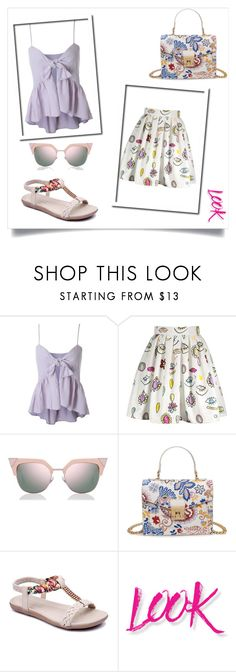 """""""For every day"""" by denisao ❤ liked on Polyvore featuring Fendi and NYX"""