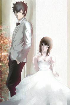 Psycho-pass 2: Kogami x Akane: Wedding by Lesya7 on deviantART
