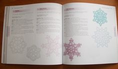 Sewing is for girls: Book Review: 100 Snowflakes to Crochet by Caitlin Sainio Crochet Snowflakes, Book Review, Felting, The 100, Bullet Journal, Knitting, Girls, Books, Crafts