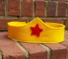 Wonder Woman Inspired Crown Pretend Play by littleshepsters
