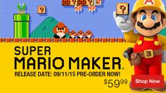 Video Games for Xbox 360, PS4 & Wii at P.C. Richard & Son. Super Mario Maker Pre-Order Now!
