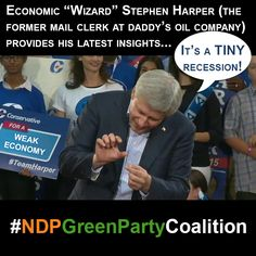 #StatsCanada announces #economic #recession... #canpoli #Canada #NDPGreenPartyCoalition