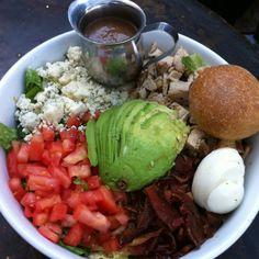 killer cobb salad, alcove restaurant, LA