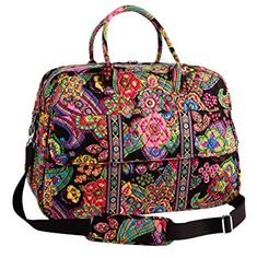 Vera Bradley Grand Traveler Symphony in Hue Review
