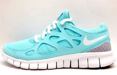 turquoise tennis shoes