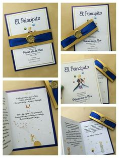 The little prince invitation. This is how Nico's invitation turned out, It's basically a summary of the book. An excuse to read the book all over again :) Aimee Brenes Prince Birthday Party, Baby First Birthday, 1st Birthday Parties, Royal Invitation, Christening Invitations, Little Prince Party, The Little Prince, Party Invitations Kids, Digital Invitations