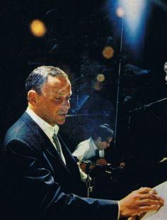 themaninthegreenshirt: Frank Sinatra and Antonio Carlos Jobim, 1967