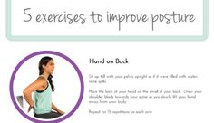 Exercises To Improve Your Posture (Infographic)