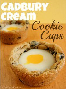 These fun Cadbury Cream Cookie Cups are just one of the many awesome Easter dessert recipes in this holiday collection. Get everything you need for sweet treats this Easter all in one place! Maylene loves this! Yummy!
