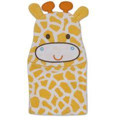 Gerber Newborn Baby Giraffe Terry Bath Mitt: Baby Clothing : Walmart.com