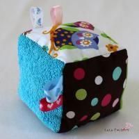 tuto couture cube éveil tutorial cubo de entretenimiento para bebé