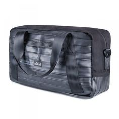 I'm a recycled bicycle inner tube bag, hand-made and born in Barcelona, a great choice for travelling all over the world with you. I am Big and Resistant Tyres Recycle, Bicycle Tires, Recycled Rubber, Bike Parts, Shoulder Pads, Luggage Bags, Barcelona, Travelling, Handmade