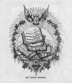 [Bookplate of May Peabody] by Pratt Libraries, via Flickr