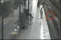 Secreto A Voces: Un Menor Cayó En Las Vías Del Tren Segundos Antes De Que Pasara Un Vagón A Alta Velocidad