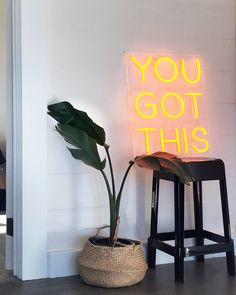 inspo custom neon quote sign art you got this Neon Lights Bedroom, Neon Sign Bedroom, Bedroom Decor, Neon Light Signs, Led Neon Signs, Neon Decor, Neon Sign Shop, Neon Sign Art, Neon Signs Quotes