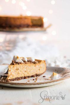 Pompoen cheesecake   simoneskitchen.nl