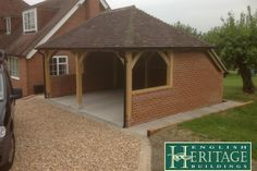 Here are some in depth articles taking an in depth look at some of our completed past oak frame projects. English Heritage, Case Study, Shed, Garage, Outdoor Structures, Traditional, Building, Projects, Carport Garage