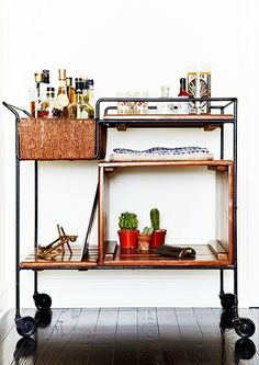 a bar cart that meets with my approval