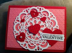 Stampin up Valentines card    Tammysblessings.stampinup.net