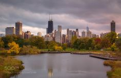 Popular on 500px : Autumn in Chicago by TatianaPesotskaya