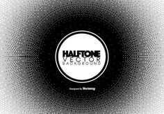Halftone Pixelated Background. Vector illustration