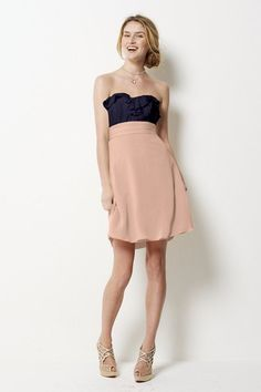 Bridesmaid Dress, you can pick the top and bottom color separately