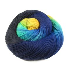 Manchester Sock Yarn - 'Barancus' | Into the Whirled