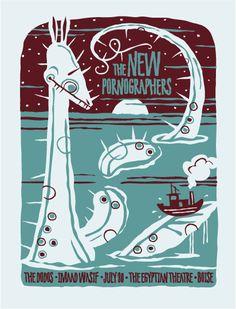The New Pornographers: https://www.pinterest.com/cepedam/gig-posters/