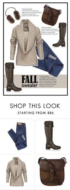 """""""Through the Park"""" by patricia-dimmick on Polyvore featuring Cheap Monday, Tory Burch, DUBARRY, Ted Baker and fallsweaters"""