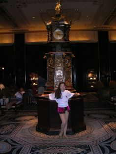 In the Waldorf-Astoria, NYC, after performance in Denise Wall's Dance Energy junior company (age 12)