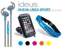 Descubre la nueva línea sport de Ideus. Accesorios deportivos, para hacer ejercicio de la forma más cómoda
