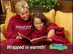 the Weezer snuggie