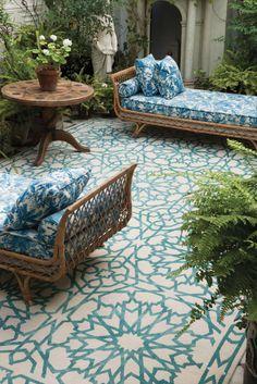Mamounia Sky by Martin Lawrence Bulland- The rug company...I LOVE this rug