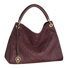 louis vuitton Artsy MM Shoulder Bags And Totes Flamme Monogram Empreinte Leather M93451 $242.99