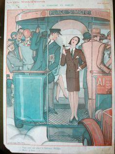 1930 La Vie Parisienne inside page / eBay