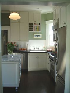 small u shaped kitchen with tiny dining area - Google Search