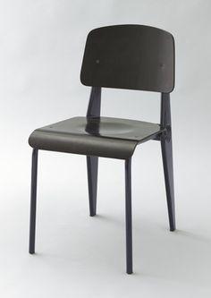 """Jean Prouvé (French, 1901–1984) """"Standard"""" Demountable """"Cafétéria"""" Chair no. 300  Manufacturer:     Ateliers Jean Prouvé, Nancy, France Date:     1952"""