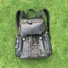 Рюкзак из питона Cinderella