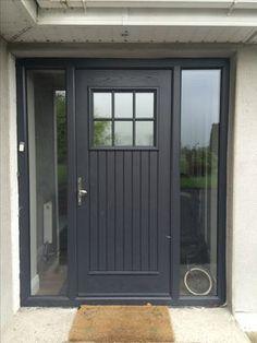 Palladio Dublin Door in Anthracite Grey