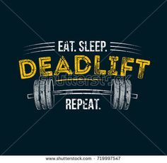 Gym motivational quote with grunge effect and barbell. Vector design for gym textile posters t-shirt cover banner cards cases etc. Gym Motivation Quotes, Gym Quote, Fitness Motivation Pictures, Bodybuilding Workouts, Bodybuilding Motivation, Powerlifting Shirts, Gym Banner, Sticker Street Art, Inspirational Posters