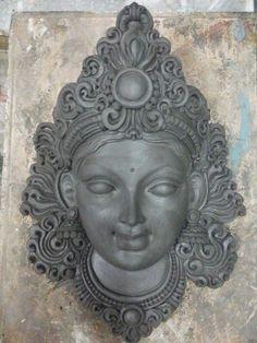 Lord Ganesha Paintings, Ganesha Art, Clay Wall Art, Clay Art, Sculpture Painting, Sculpture Clay, Ceramic Sculpture Figurative, Tanjore Painting, Hindu Art